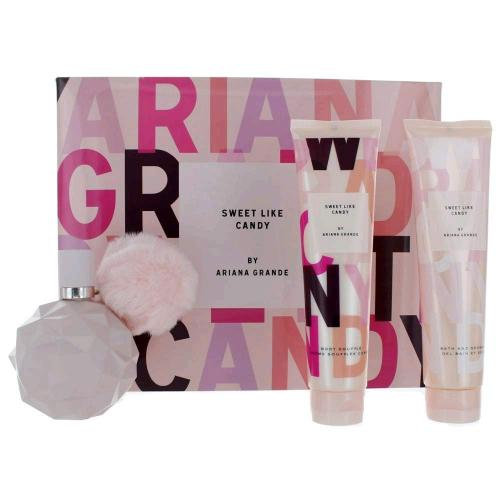 ARI SWEET LIKE CANDY BY ARIANA GRANDE 3 PCS SET: 3.4 EDP SP (WINDOW BOX)