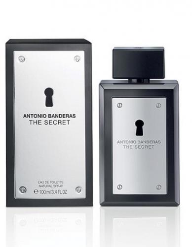 ANTONIO BANDERAS THE SECRET 3.4 EAU DE TOILETTE SPRAY FOR MEN