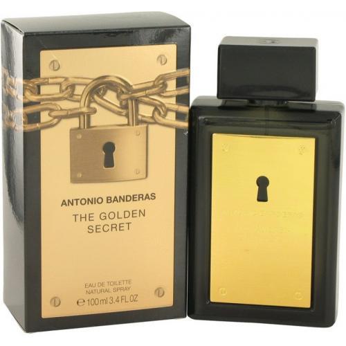 ANTONIO BANDERAS THE GOLDEN SECRET 3.4 EDT SP FOR MEN