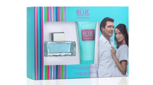 ANTONIO BANDERAS BLUE SEDUCTION 2 PCS SET FOR WOMEN: 3.4 SP