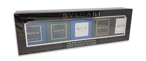 BVLGARI 5 PCS MINI SET FOR MEN
