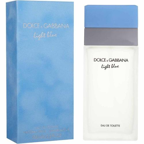 DOLCE & GABBANA LIGHT BLUE 3.4 EDT SP FOR WOMEN