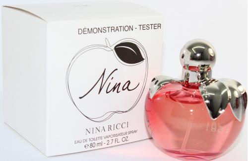NINA BY NINA RICCI TESTER 2.7 OZ EAU DE TOILETTE SPRAY FOR WOMEN
