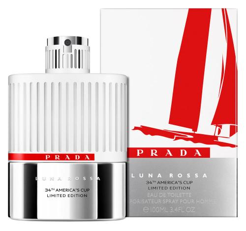 PRADA LUNA ROSSA 34TH AMERICA'S CUP LIMITED EDITION 3.4 EDT SP FOR MEN