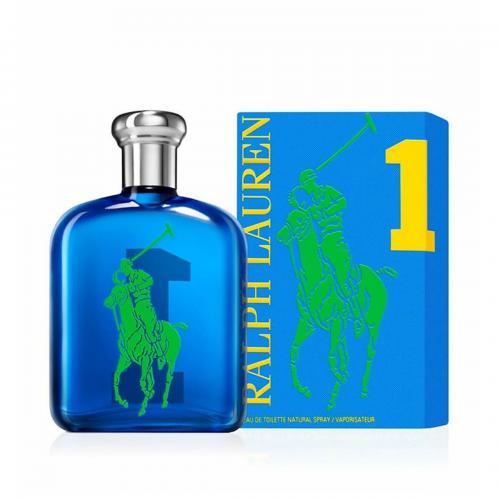 POLO BIG PONY # 1 BLUE 3.4 EAU DE TOILETTE SPRAY FOR MEN