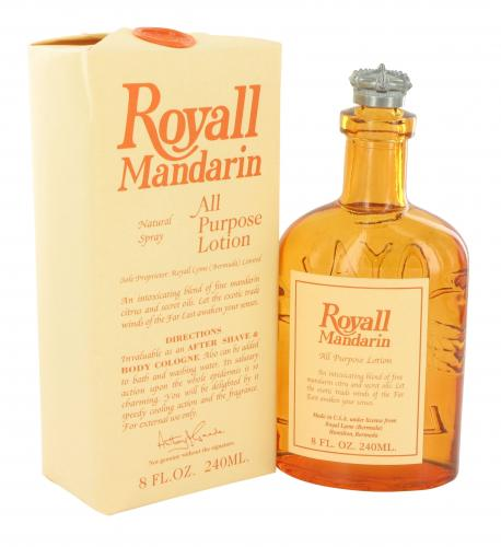 ROYALL MANDARIN ALL PURPOSE LOTION 8 OZ SPLASH