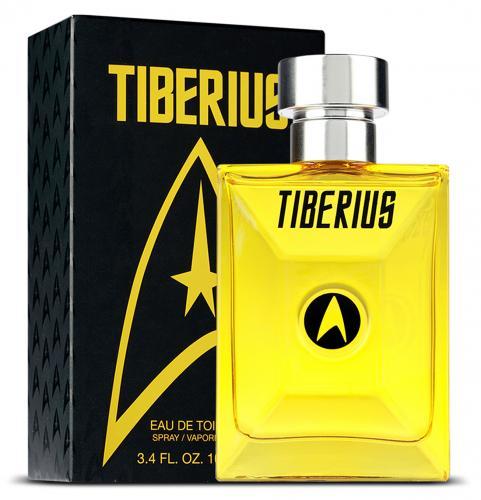 STAR TREK TIBERIUS 3.4 EDT SP FOR MEN
