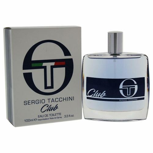 SERGIO TACCHINI CLUB 3.4 EAU DE TOILETTE SPRAY FOR MEN