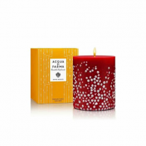 ACQUA DI PARMA FRUITS & FLOWERS CANDLE COLLECTION SILVER GEMS 900 G