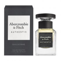 ABERCROMBIE AND FITCH AUTHENTIC 1 OZ EDT SP FOR MEN