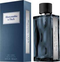ABERCROMBIE & FITCH FIRST INSTINCT BLUE 3.4 EAU DE TOILETTE SPRAY FOR MEN