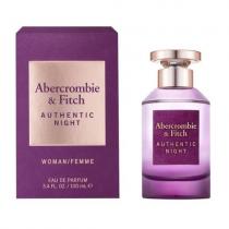 ABERCROMBIE & FITCH AUTHENTIC NIGHT 3.4 EAU DE PARFUM SPRAY FOR WOMEN