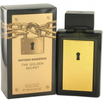 ANTONIO BANDERAS THE GOLDEN SECRET 3.4 EDT SP FOR MEN