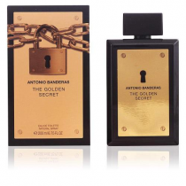 ANTONIO BANDERAS THE GOLDEN SECRET 6.8 EDT SP FOR MEN