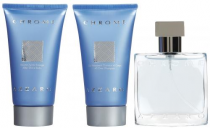 AZZARO CHROME 3 PCS SET FOR MEN: 1 OZ SP