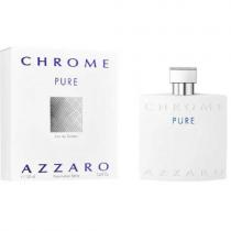 AZZARO CHROME PURE 3.4 EAU DE TOILETTE SPRAY