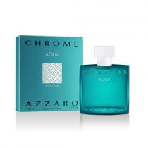 AZZARO CHROME AQUA 1.7 EAU DE TOILETTE SPRAY FOR MEN