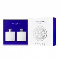 AZZARO CHROME PURE 2 PCS SET: 3.4 SP