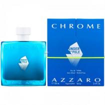 AZZARO CHROME UNDER THE POLE 3.4 EAU DE TOILETTE SPRAY FOR MEN