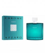 AZZARO CHROME AQUA 3.4 EAU DE TOILETTE SPRAY FOR MEN