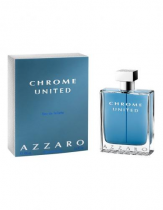 AZZARO CHROME UNITED 3.4 EAU DE TOILETTE SPRAY FOR MEN