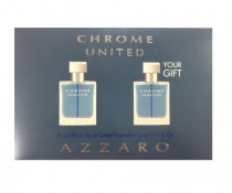 AZZARO CHROME UNITED 2 PCS SET: 1 OZ SP