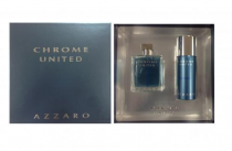 AZZARO CHROME UNITED 2 PCS SET: 3.4 SP