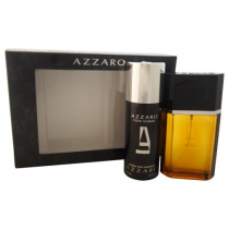 AZZARO 2 PCS SET FOR MEN: 3.4 SP + DEOD SPRAY
