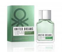 BENETTON UNITED DREAMS BE STRONG 3.4 EAU DE TOILETTE SPRAY FOR MEN