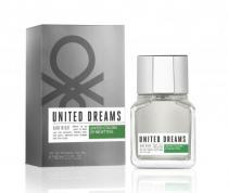 BENETTON UNITED DREAMS AIM HIGH 2 OZ EAU DE TOILETTE SPRAY FOR MEN