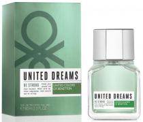 BENETTON UNITED DREAMS BE STRONG 2 OZ EAU DE TOILETTE SPRAY FOR MEN