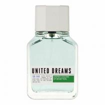 BENETTON UNITED DREAMS GO FAR TESTER 3.4 EAU DE TOILETTE SPRAY FOR MEN