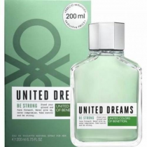 BENETTON UNITED DREAMS BE STRONG 6.8 EAU DE TOILETTE SPRAY FOR MEN