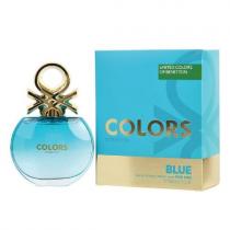 BENETTON COLORS BLUE 2.7 EAU DE TOILETTE SPRAY FOR WOMEN