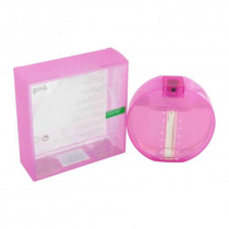BENETTON PARADISO INFERNO 3.4 EDT SP FOR WOMEN PINK