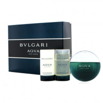 BVLGARI AQUA 3 PCS SET FOR MEN: 3.4 SP
