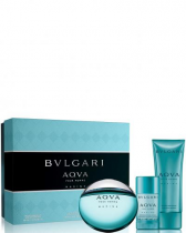 BVLGARI AQUA MARINE 3 PCS SET FOR MEN: 3.4 SP
