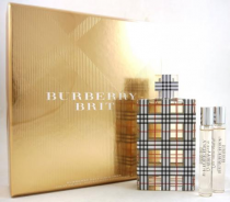 BURBERRY BRIT 3 PCS SET: 3.4 EDP SP