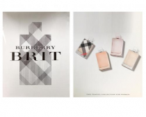 BURBERRY BRIT 4 PCS MINI SET FOR WOMEN