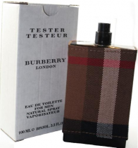 BURBERRY LONDON (FABRIC) TESTER 3.4 EDT SP FOR MEN
