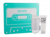 212 3 PCS SET FOR WOMEN: 3.4 EAU DE TOILETTE SPRAY + 10 ML EAU DE TOILETTE SPRAY + 2.5 BODY LOTION (METAL BOX)