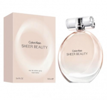 CK SHEER BEAUTY 3.4 EDT SP FOR WOMEN