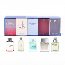 CALVIN KLEIN 5 PCS MINI SET FOR MEN