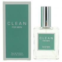 CLEAN 1 OZ EAU DE TOILETTE SPRAY FOR MEN