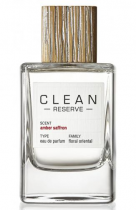 CLEAN AMBER SAFFRON RESERVE 3.4 EAU DE PARFUM SPRAY