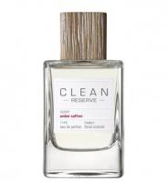 CLEAN AMBER SAFFRON RESERVE TESTER 3.4 EAU DE PARFUM SPRAY