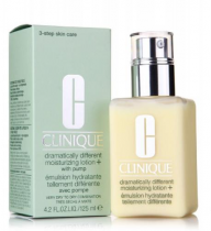 CLINIQUE DRAMATICALLY DIFFERENT MOISTURIZING LOTION WITH PUMP 4.2 OZ