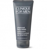 CLINIQUE CHARCOAL FACE WASH 6.7 OZ FOR MEN