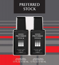 PREFERRED STOCK 2 PCS SET: 1.7 COL SP + 1.7 COL SP