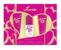 LOVE'S BABY SOFT 3 PCS SET: 1.5 OZ MIST